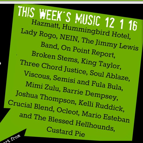 The Listen Local Show 12 1 16