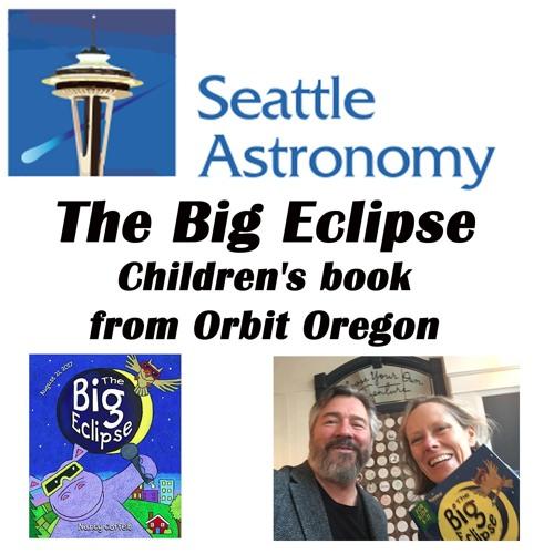The Big Eclipse kids' book from Orbit Oregon