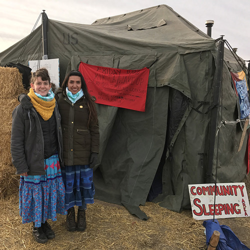 Artists Rebecca Nagle and Graci Horne Help Women Confront Sexual Violence at Standing Rock