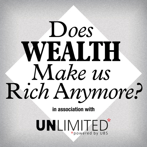 Does wealth make us rich anymore? - When does making a difference mean more than money?
