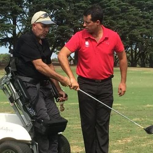 Christian Hamilton National Inclusion Manager Golf Aust
