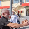 Chegada a Cuba para homenagens a Fidel - conversa com jornalistas