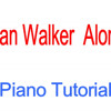 Alone Piano Tutorial Easy | Alan Walker