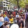 Toni Macpherson addresses first GMAR protest 13 February 2014