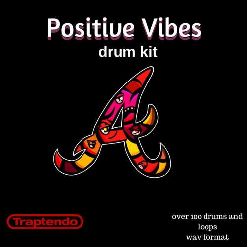 Positive Vibes drum kit demo song