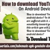 How To Download YouTube Videos On Android Device?.mp3