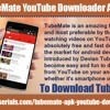What is TubeMate YouTube downloader android APK?