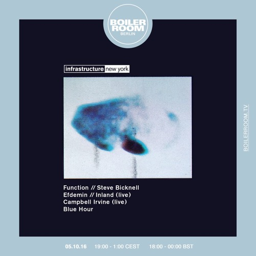 Function Boiler Room Berlin DJ Set by BOILER ROOM | Free Listening ...