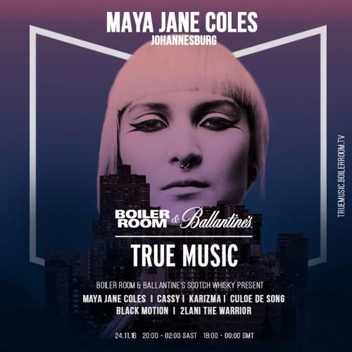 Black Motion Boiler Room and Ballantine's True Music South Africa Live Set