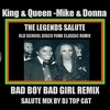 Salute To King & Queen Donna Summer & Michael Jackson Bad Boy & Bad Girl Mash Up Remix ,DJ Top Cat