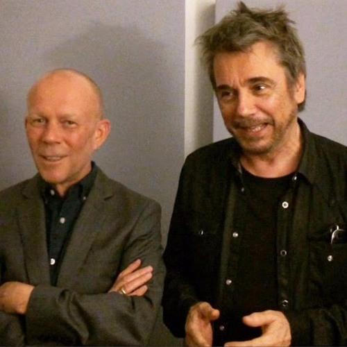 Vince Clarke with Jean-Michel Jarre