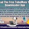 Download The Free TubeMate YouTube Downloader App