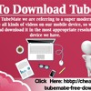 How To Download TubeMate.mp3