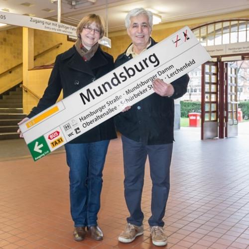 42 Minuten Hamburg - Geschichten aus der Hamburger Ringlinie. Mundsburg: Hassan Khiabani