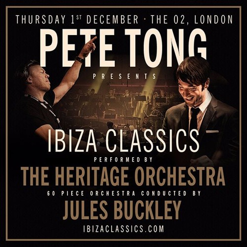 Pete Tong & The Heritage Orchestra Presents Ibiza Classics 2016, London