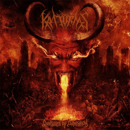 KRATORNAS - Devoured by Damnation (CD-2016)