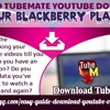1Download TubeMate YouTube Downloader On Your BlackBerry PlayBookmp3
