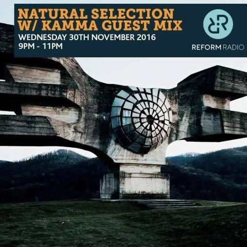 KAMMA guest mix for Reform Radio Manchester 30.11.16
