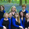 The BlueBelles singing Jingle Bells on BBC Wiltshire