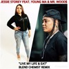 Jessie Storey Feat. Mr Woods & Young M.A - Live My Life Remix (Main Blendchemist Remix)