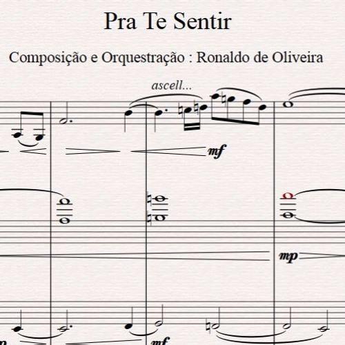 """Pra Te Sentir - Composição e Arranjo : Ronaldo """"Cordas"""" - Violino : Aramis Rocha (Demo not mixed)"""