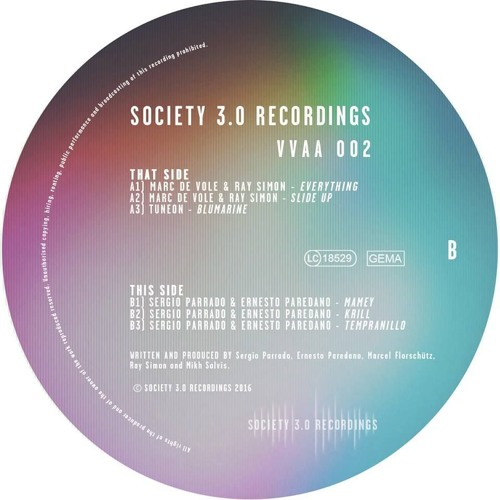 Marc de Vole & Ray Simon - Slide Up *OUT NOW - SOCIETY 3.0