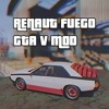 Renault Fuego for GTA V - rock