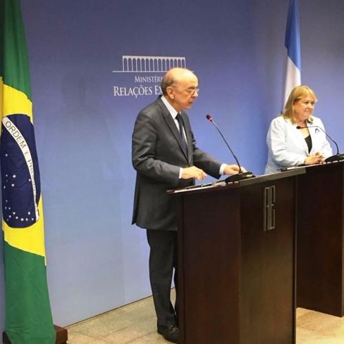 Entrevista dos Ministros José Serra e Susana Malcorra