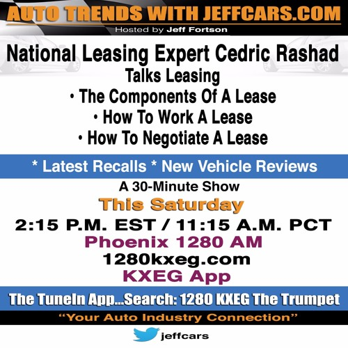 AutoTrends With JeffCars.com - Understanding A Lease
