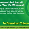 How To Download And Install TubeMate On Your PC Windows
