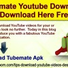 TubeMate YouTube Downloader Download Here Free