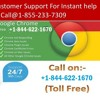 Google Chrome Support Phone Number +1-844-622-1670