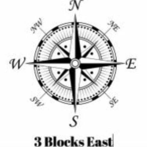 3 Blocks East