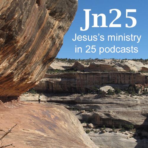 Jesus in 25-17 John 6:22-59
