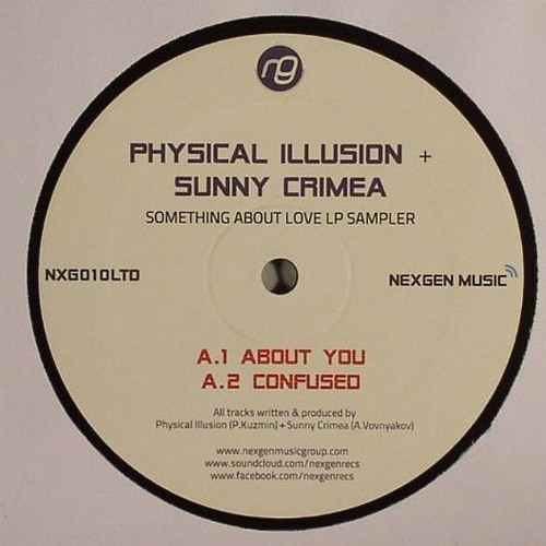 "Physical Illusion & Sunny Crimea  -  Something about love LP (Nexgen Music) 12"" Vinyl + Digital"
