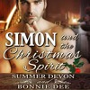 Simon And The Christmas Spirit by Summer Devon and Bonnie Dee, Narrated by Cornell Collins
