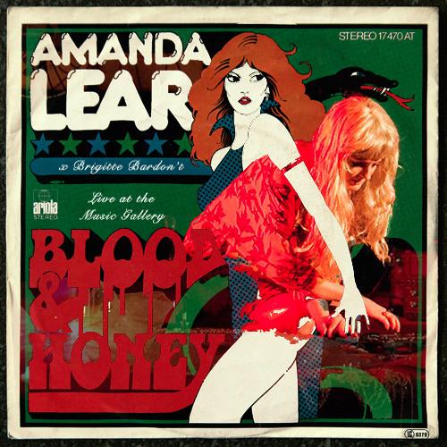 Brigitte Bardon't x Amanda Lear - Blood & Honey [Live at the Music Gallery]