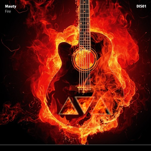 Fire Guitar - Mauty