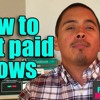 How To Get Paid Shows As An Independent Artist