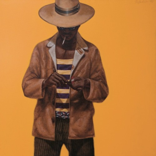 Southern Accent artist Barkley L. Hendricks -- Open Studio 7