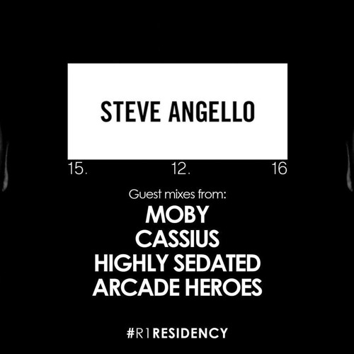 Steve Angello & Moby & Cassius & Highly Sedated & Arcade Heroes - BBC Radio 1 Residency (15.12.2016)
