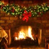 3 hours of Christmas Comedy and Xmas Rock - The Yule Log