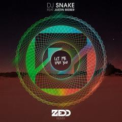 DJ Snake feat. Justin Bieber - Let Me Love You (Zedd Remix)