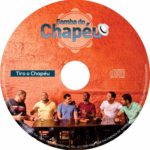 CD SAMBA DO CHAPÉU - TIRO O CHAPÉU