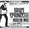 Bruce Springsteen Live  at Shady Grove Music Fair 10-11-74
