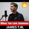 James TW - When You Love Someone (Jack Thomas Cover Featuring Paul Knapik!)