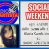 SOCIAL WEEKEND - 17 DICEMBRE 2016 PODCAST - RADIOARTISTA
