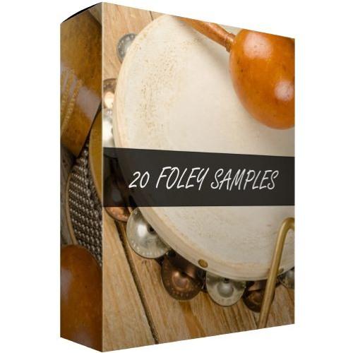 20 Foley Samples | TrackGodSound FREEBIE