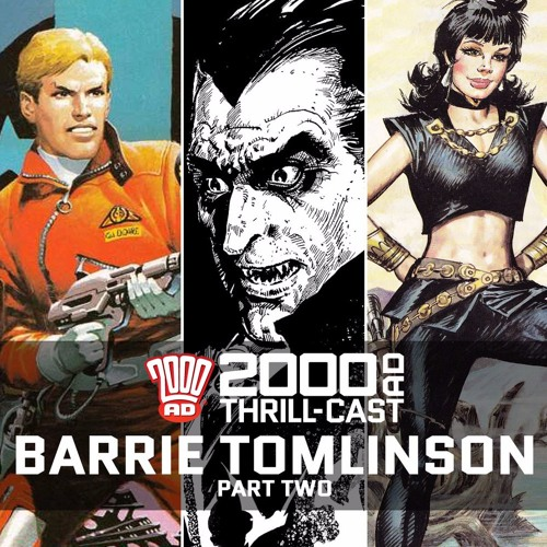 Eagle, Thrill-power, and Scream: Barrie Tomlinson, part two