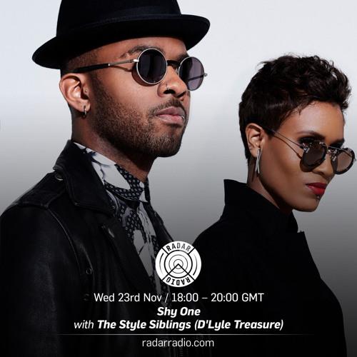 Shy One w/The Style Siblings (D'lyle Treasure) - 23rd Nov16 - RADAR RADIO